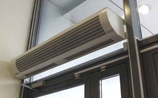Что такое воздушные тепловые завесы, их виды и классификация