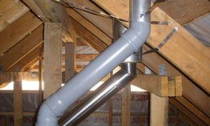 Можно ли использовать канализационные трубы для вентиляции