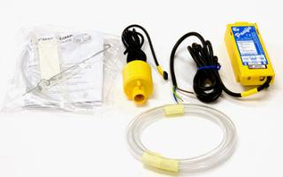 Дренажная помпа для слива конденсата с кондиционера.