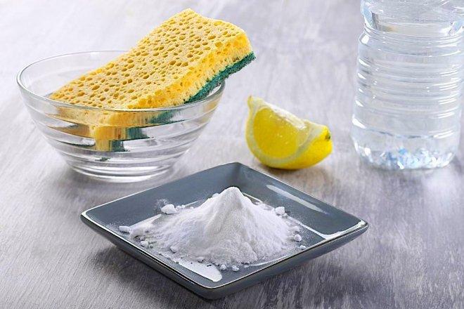 Чистка кухонной вытяжки содой