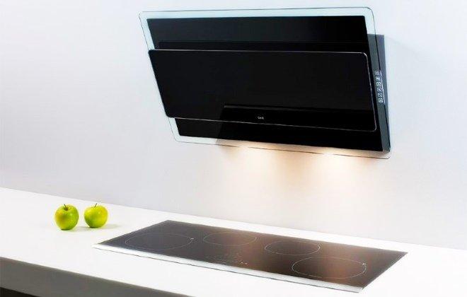 Кухонная вытяжка 60 см с сенсорным управлением