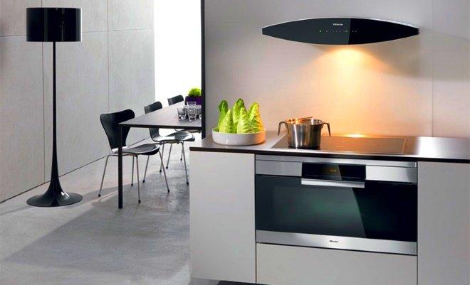 Подвесная вытяжка – идеальное решение для комнат, где невозможно обеспечить отвод воздуха в вентиляцию