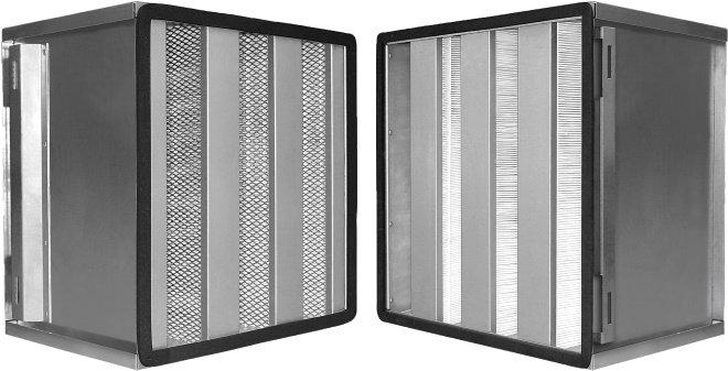 Панельные фильтры для вентиляции
