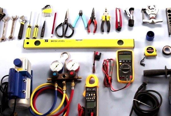 Специализированные инструменты для установки кондиционеров