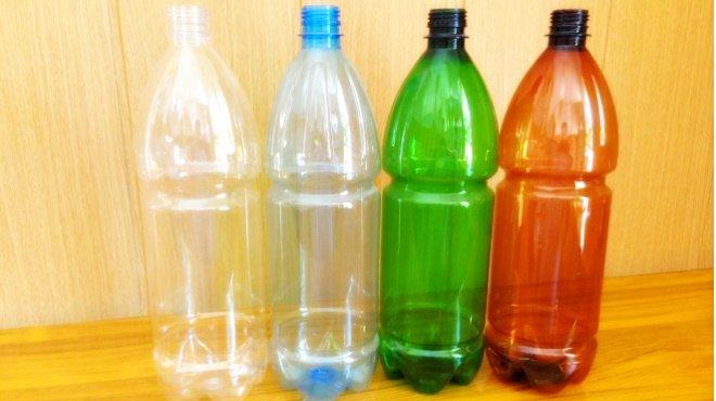 Пластиковые бутылки для изготовления осушителя воздуха