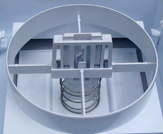 Внутренняя конструкция анемостата