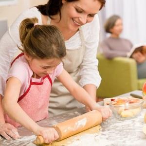 Приготовление блюд в чистой кухне