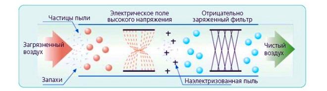 Как очищается воздух в ионизаторе