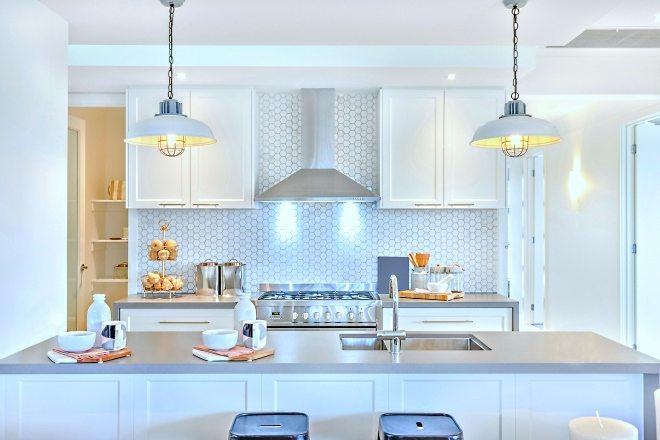 Кухонная вытяжка на кухне