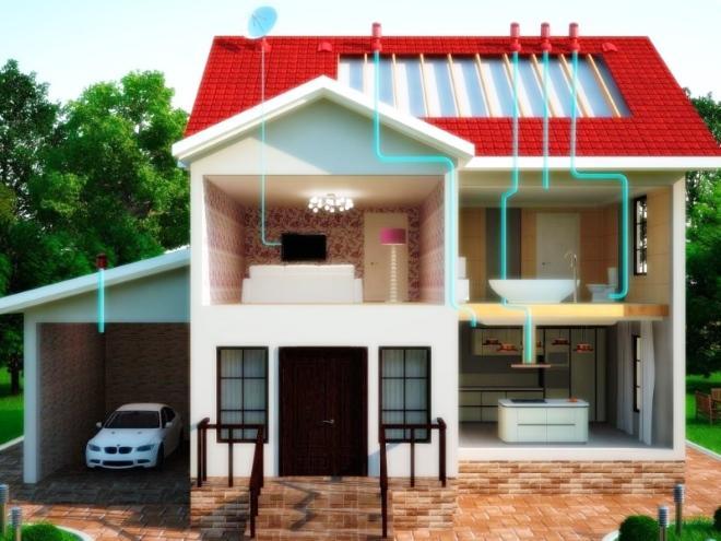 Особенности проектирования вентиляции для частного дома